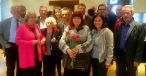 Stadtratsfraktion und Altstadträte mit Sonja Hotz
